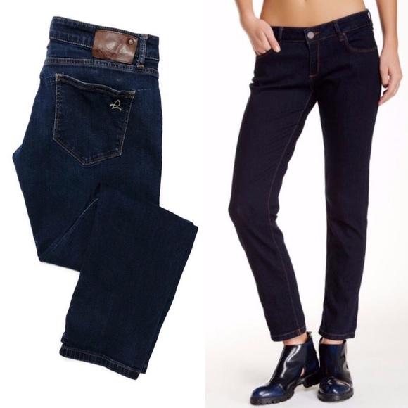 DL1961 Denim - DL1961 Dark Wash Riley Boyfriend Jeans 16-0374